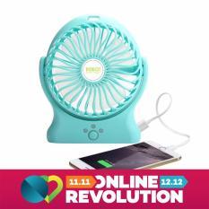 Robot Power Bank RT-BF06 2000mAh Portable Kipas Angin Mini Fan