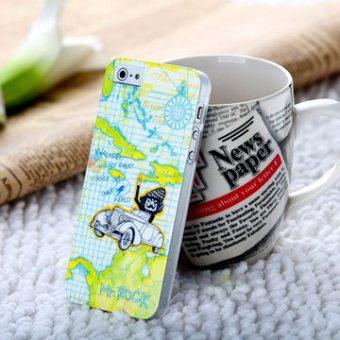 Harga Termurah ROCK Iphone5s Set Penutup Belakang Tipis Handphone Shell Harga baru