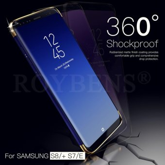 Full Body Protect Soft TPU Case Front + Back Cover untuk Samsung Galaxy .