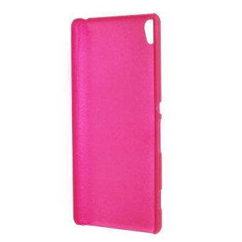 Rubberized Hard Back Case for Sony Xperia XA / XA Dual - Rose - intl