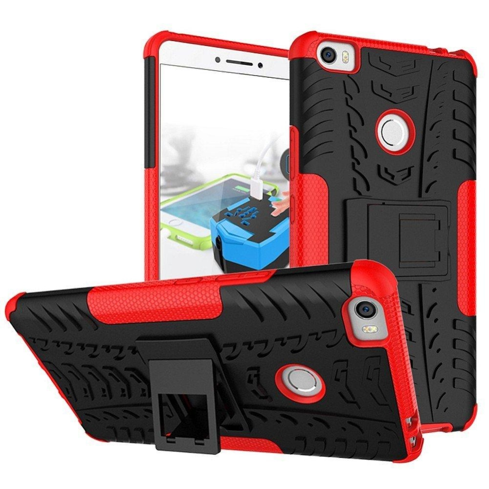 ... Rugged Heavy Duty Armor Hard Back Cover Case for Xiaomi Mi Max 6.4Inches Stand Case ...