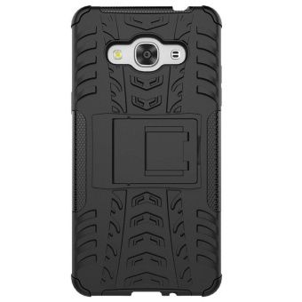Detail Gambar Rugged Heavy Duty Hard Back Case Cover for Samsung Galaxy J3 ProDuos SM-