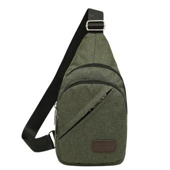 ... kebugaran rumah korea kanvas pria diagonal kecil tas ransel bahu tas