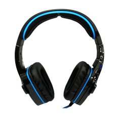 Sades Wolfang SA-901 Headset Gaming High Quality Bass - Biru