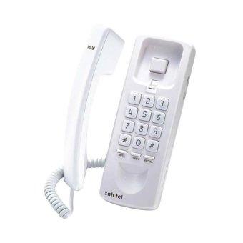 harga Sahitel S21 Telepon Kabel Single Line - Putih Lazada.co.id