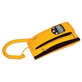 harga Sahitel S35 Single Line Telephone - Kuning Lazada.co.id