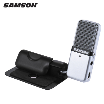 harga Samson GO Mic Mini Portable Recording Condenser Microphone Clip-on Design with USB Cable Carrying Case for Computer NoteBook Tablet PC Outdoorfree - intl Lazada.co.id
