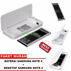 Samsung Baterai Galaxy Note 4 + Desktop / Extra Battery Kit Samsung Galaxy note 4