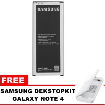 Samsung Baterai Galaxy Note 4 SM-N910 3220mAh + FREE DekstopKit Samsung Galaxy Note 4