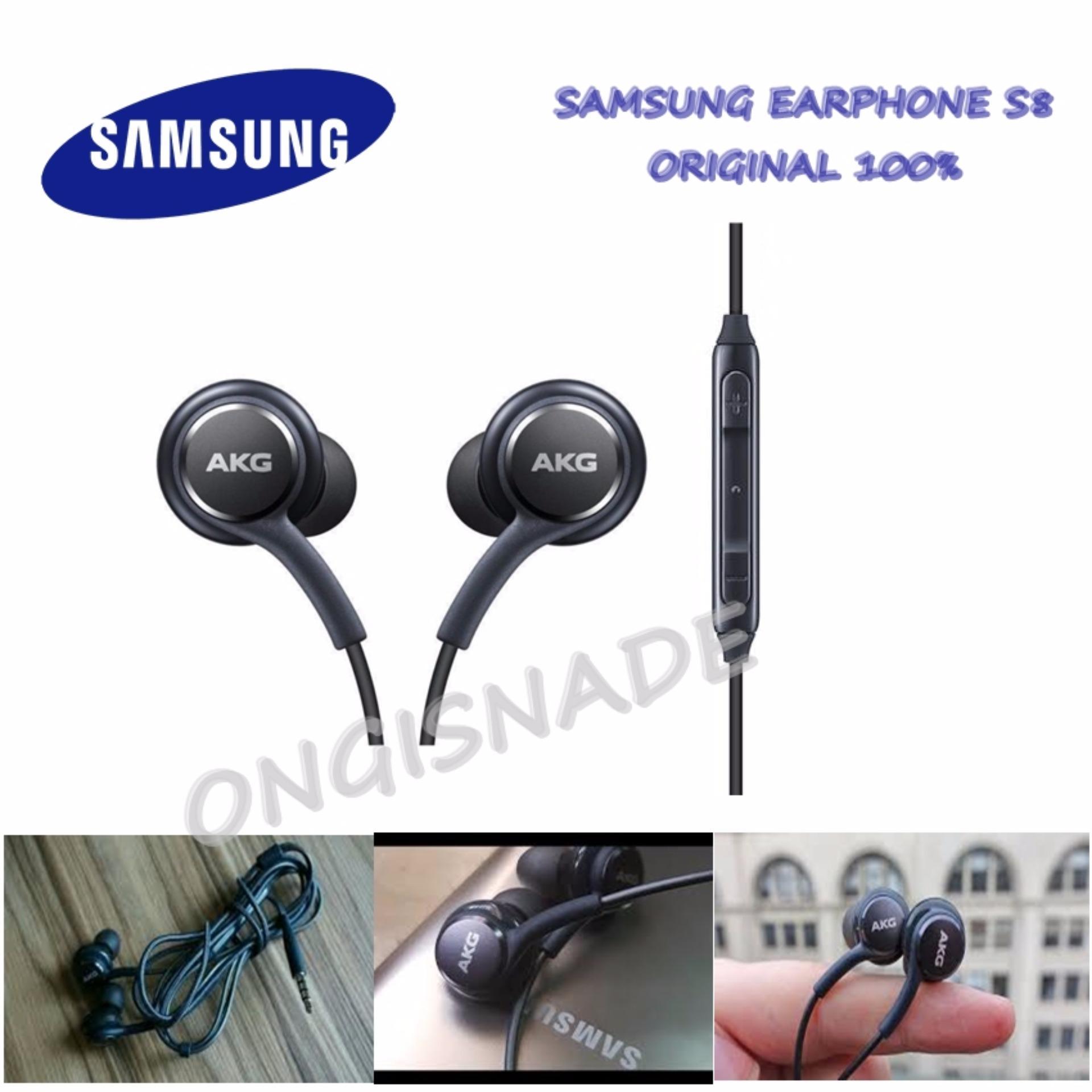 ... Bluetooth 4.1 Sport S6 Handsfree Earphone Headphones - Hitam. Source · Samsung Earphone/Handsfree Audio Stereo for Samsung Galaxy S8 byAKG Original -
