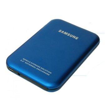 """Samsung External Case 2.5"""" Sata USB 2.0 - Biru"""