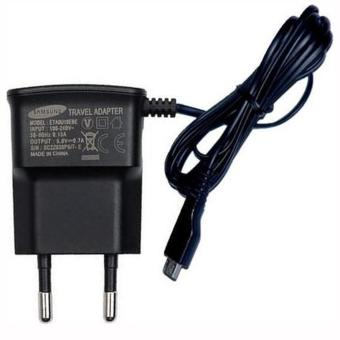 Samsung Galaxy Young Travel Charger MicroUSB Universal SupportGadget - Hitam