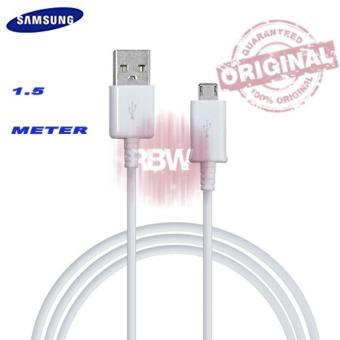 Samsung Kabel Samsung Original 1.5 Meter Cable Data SamsungOriginal Micro Usb Kabel Samsung Micro - White