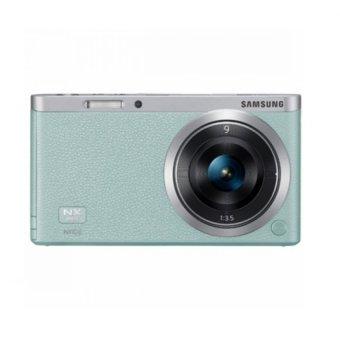 Samsung NX Mini with 9mm kit Lens Smart Camera Green