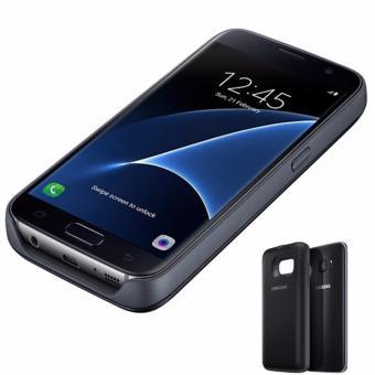 Harga Samsung S7 FLAT Backpack Wireless Charging Battery Casing forGalaxy S7 - Black Ori