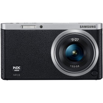 Samsung Smart Camera NX Mini 20.5MP with 9-27mm Lens Black