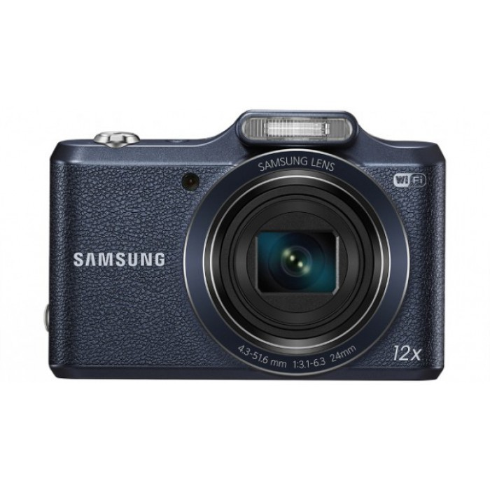 Samsung WB35F 16.2MP 12x Optical Zoom Digital Camera - Black