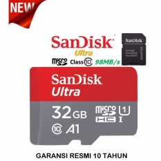 Sandisk 32GB Ultra microSDHC 98MB/s - with adaptor.