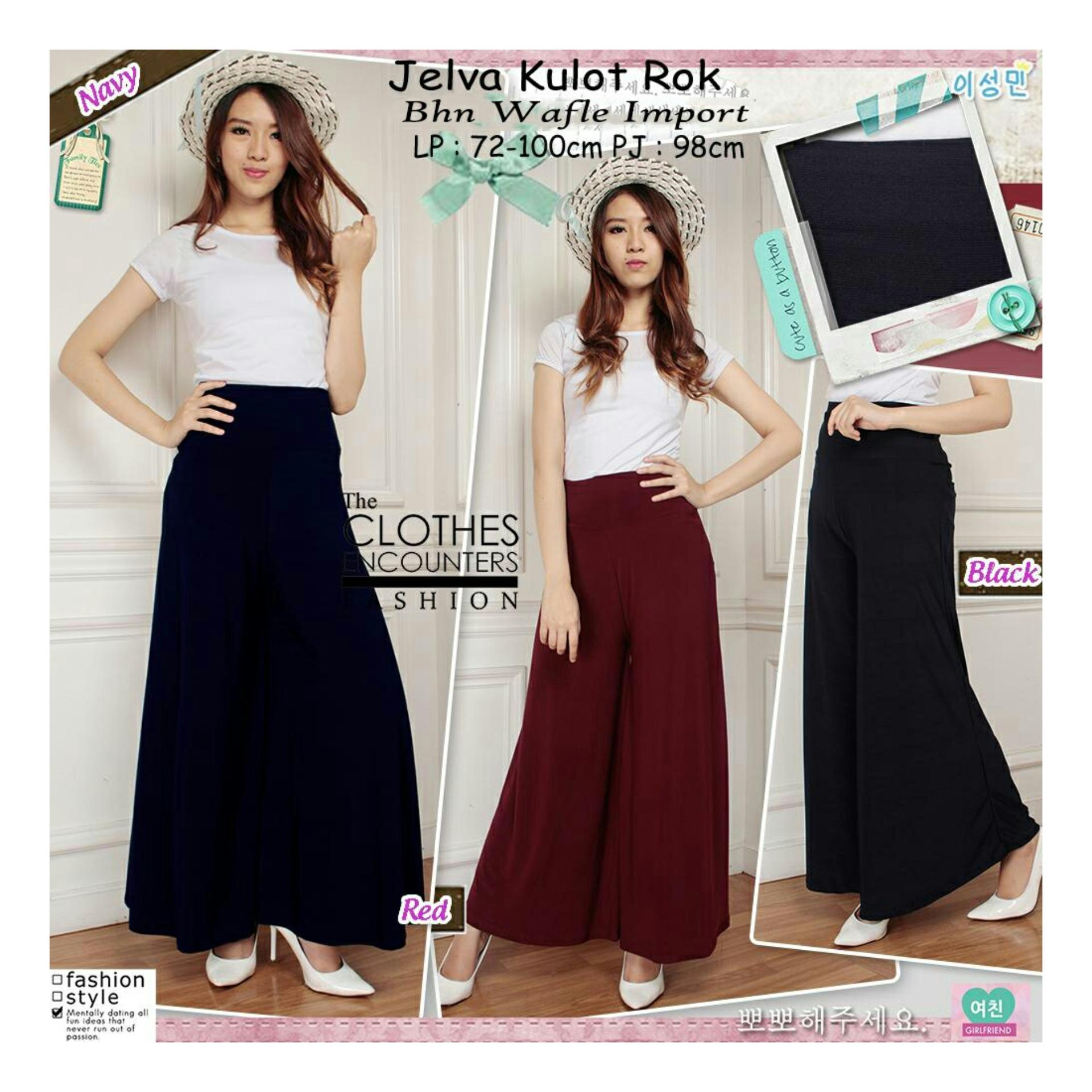 ... jumbo long pant Leondra. Source · Jfashion Celana Kulot Panjang Wanita Dewasa Bahan Plisket Jennie Source · Sb Collection Celana Kulot Rok