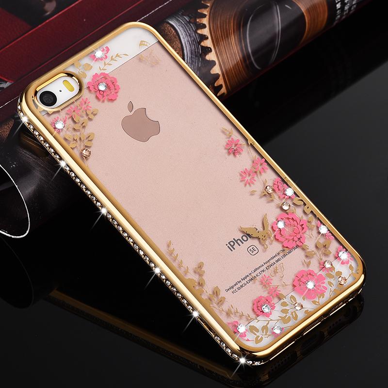 Cheap online Se iphone5s sederhana silikon merek populer perempuan shell shell telepon