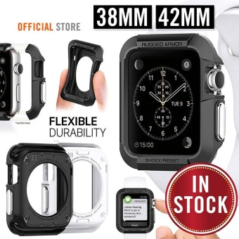 Second Generation Apple Watch Silicone Case Protection Case 42Mm Black - intl