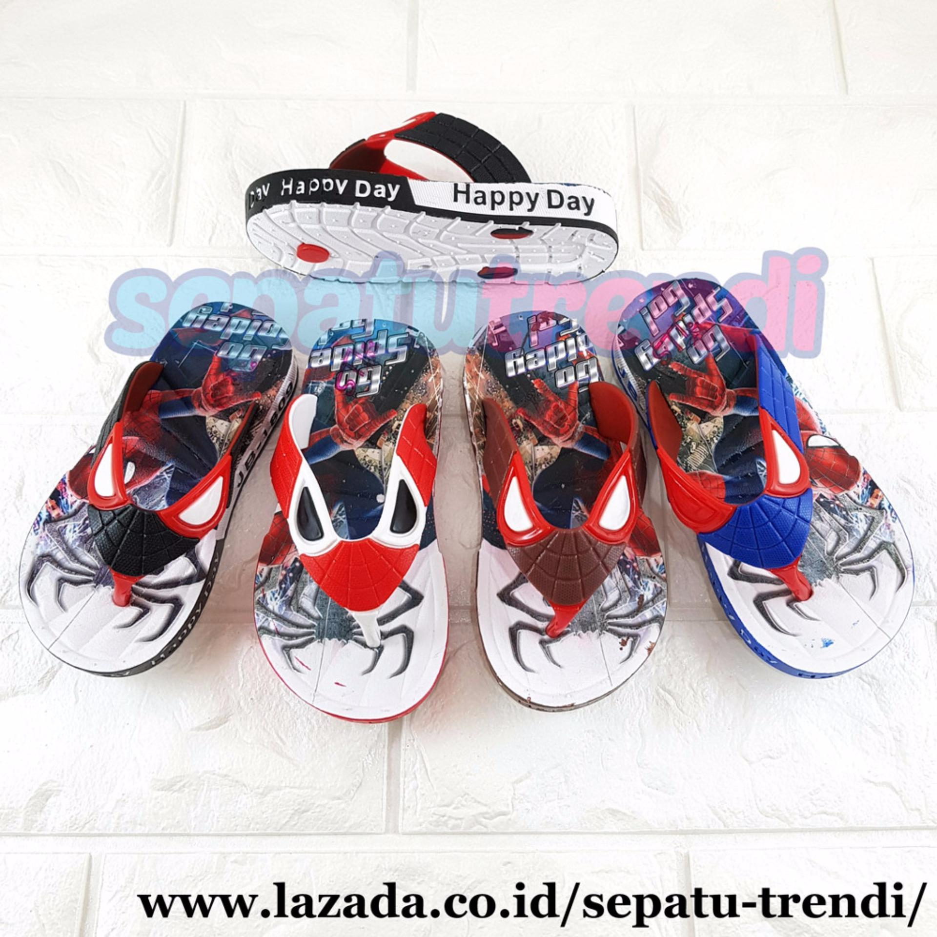 Ardiles Sandal Casual Anak Sebastian Tg Biru Ukuran 33 37 Daftar Roberto Sepatu Trendi Laki Karet Warna Dikirim Random Spkr