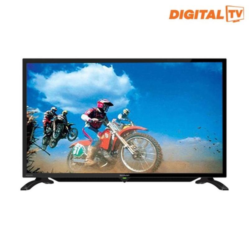 Sharp 32 LED Digital HD Ready TV - Hitam (Model LC-32LE295i)