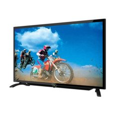 Sharp 40 inch LED HD TV - Hitam (Model LC-40LE185i)