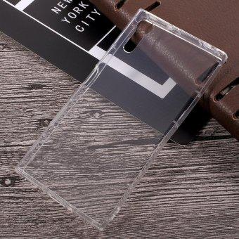 Shock penyerapan bening TPU Cell Phone case untuk Sony Xperia X Zs / XZ
