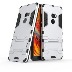Shock Proof Cover Dual Layer Hybrid Armor Combo Protective Hard Case with Kickstand for Xiaomi Mi Mix 2 / Mi Mix Evo - intl