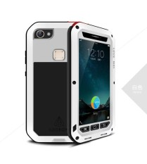 Shockproof Dustproof Water Resistant Aluminum Alloy Metal Tempered Glass Cover Case for Vivo X6 - intl