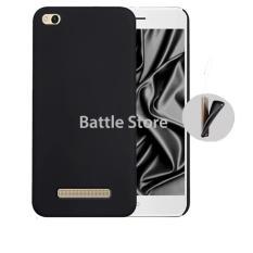 Silicone Soft Case Baby Skin For Xiaomi Redmi 5A Case Luxury Matte Cover For Xiaomi Redmi 5A - Black