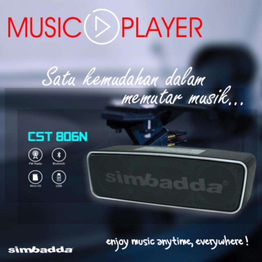 Cerdas 4 Speaker Bluetooth Speaker Mini Suara Bass Berat Source Simbadda Speaker Bluetooth .