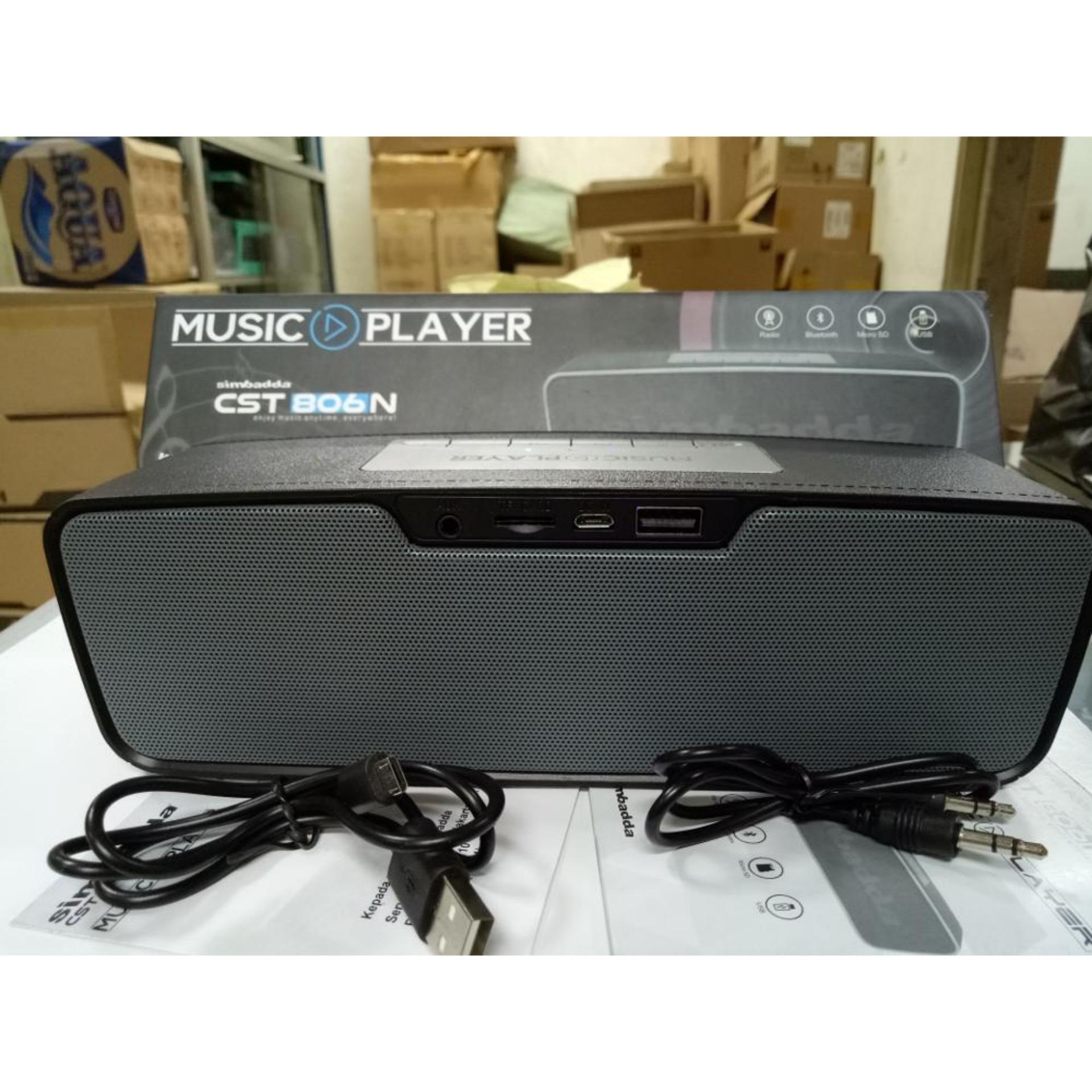 Simbadda Speaker Bluetooth CST-806N Original ...