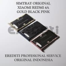 Rp 16500 SIMTRAY ORIGINAL XIAOMI REDMI 4A GOLD BLACK PINKIDR16500