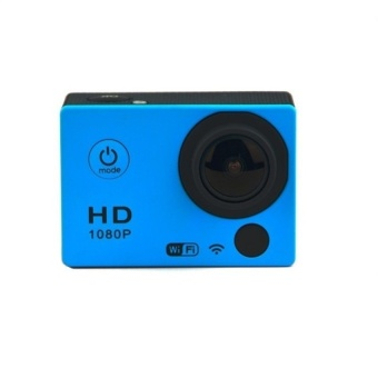 SJ4000 Style Action Camera GS398 12MP CMOS 1080P HD 2.0 inch LCD Screen Sport Camcorder (Blue) - intl