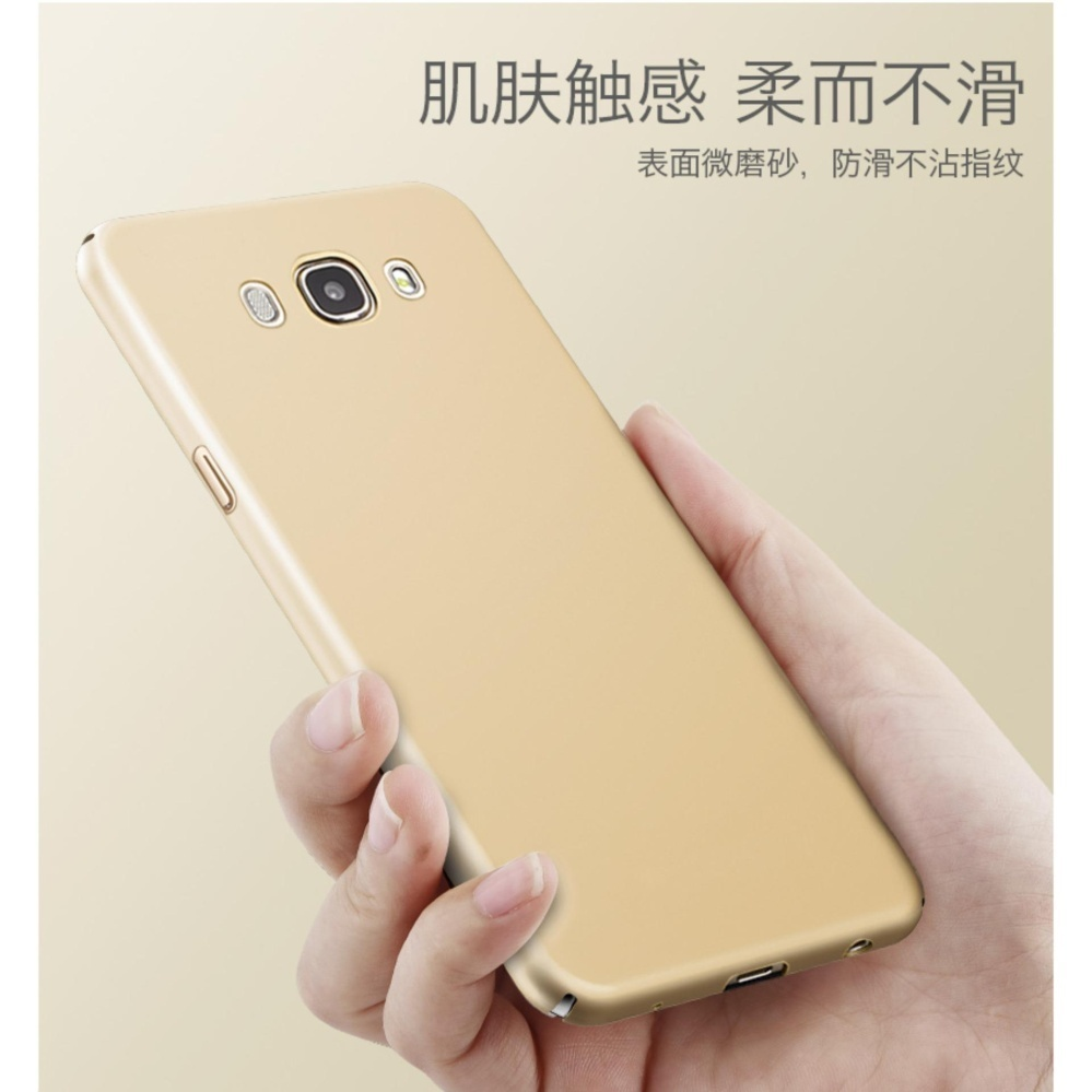 Slim Fit Shell Hard Full Protective Anti-Scratch Resistant Cover Case for Samsung Galaxy J510 ...