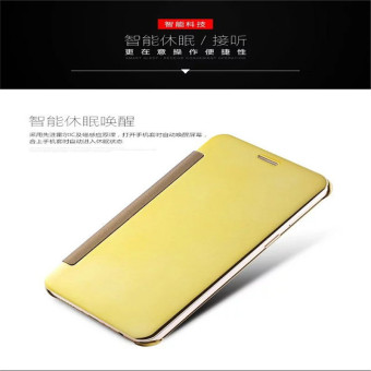 ... Smart Sleep Mirror Leather Case Cover For Oppo F1 Plus Oppo R9 Black