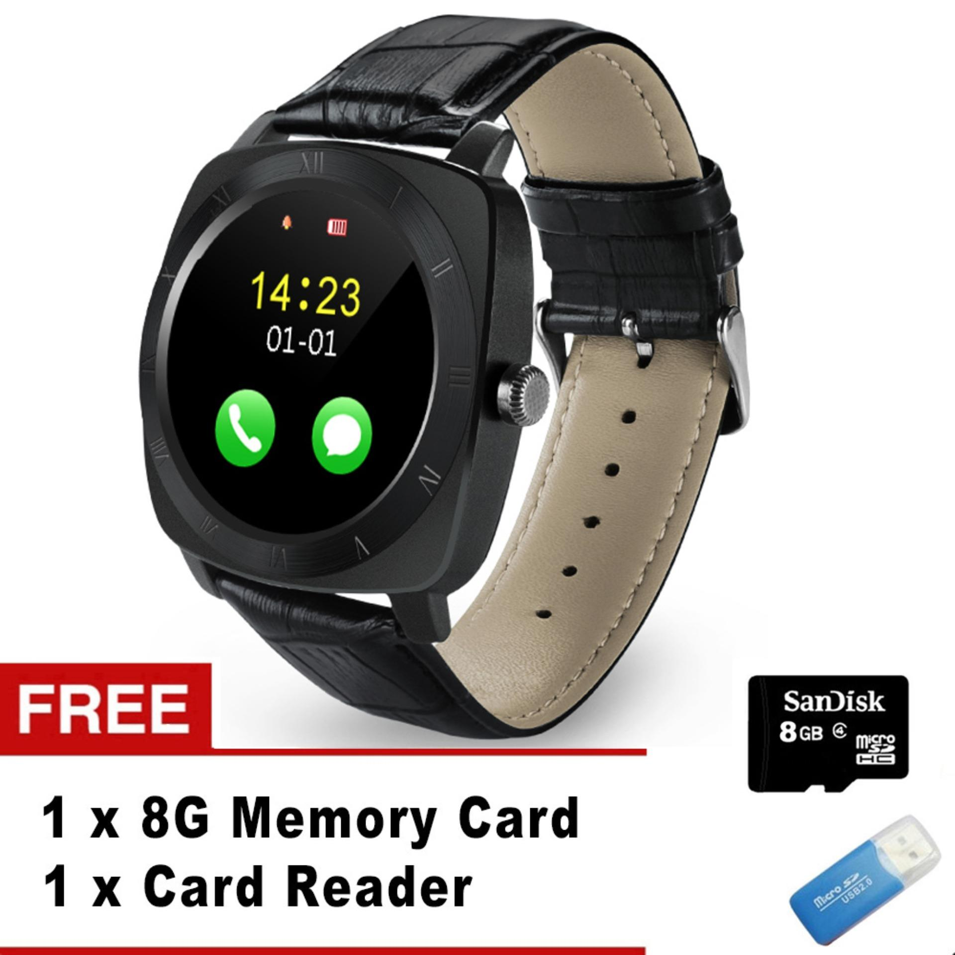 ... Smart Watch X3 Smartwatch Pedometer fitness Clock Camera SIM TFcard Mp3 player Relogio masculino for android ...