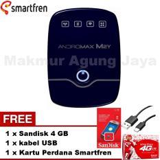 Smartfren Andromax M2Y Modem MiFi - Biru / Blue + Free Sandisk 4GB+ Free Kabel USB