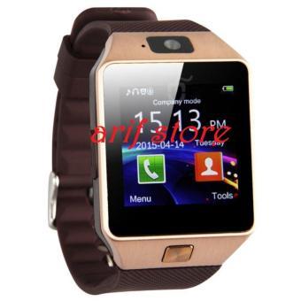 harga SmartWatch Jam Tangan Handphone Strap Karpet DZ09.AS Lazada.co.id
