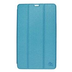 Smile Flip Cover Case untuk Tab S2 9.7 Inch T815 - Biru Muda