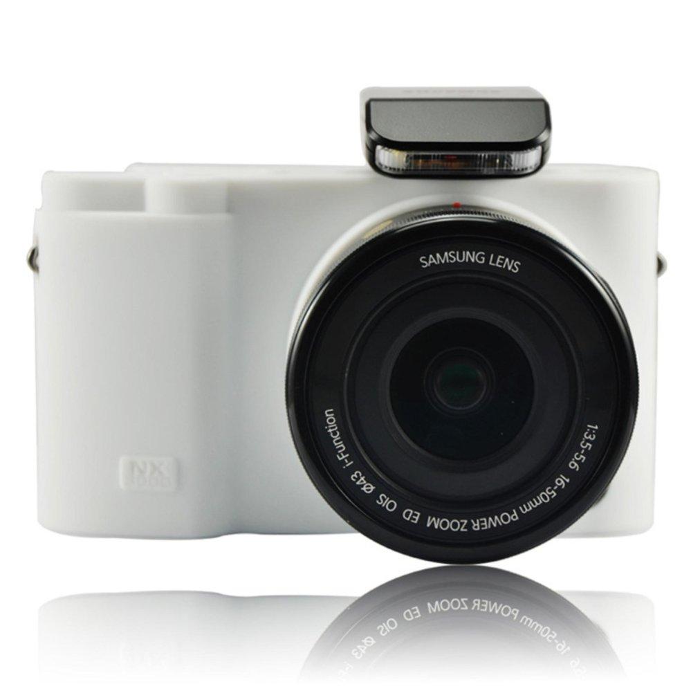 Soft Silicone Armor Skin Rubber Protective Camera Case For SamsungNX3000 - intl ...