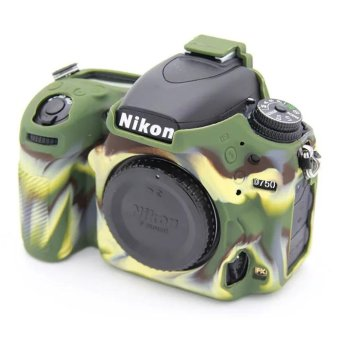 Soft Silicone Gel Rubber Camera Case Cover for Nikon D750(Green) -intl ...