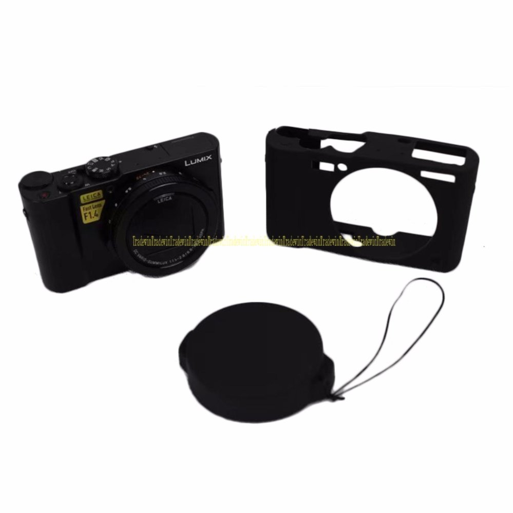 ... Soft Silicone Rubber Camera Protective Body Case For Panasonic Lumix LX10 L X10 intl