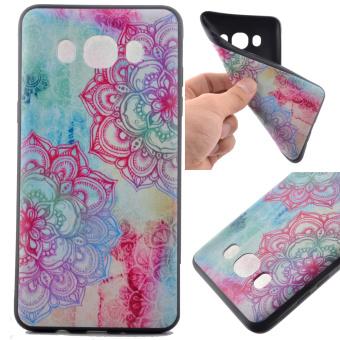 Soft TPU Case for Samsung Galaxy J5 (2016) - Henna Lotus - intl