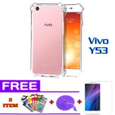 Softcase Anti Jamur Anti Crack Vivo Y53 Air Case 0.3mm / Silicone / Soft Case