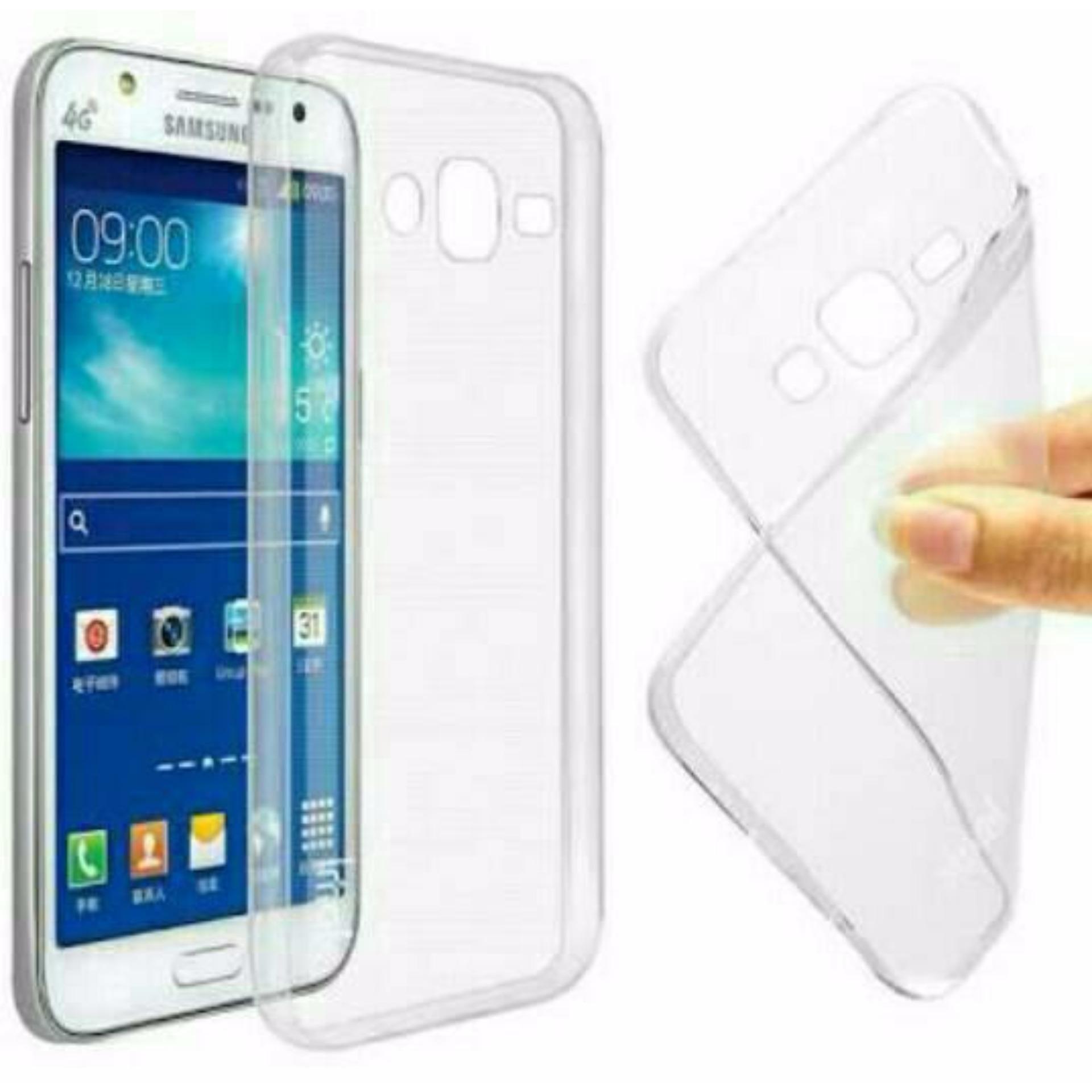 Softcase Jelly Ultrathin For Samsung Galaxy J3 2016 (j3) PutihTransparan - Aircase .