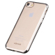 Softcase Silicon Jelly Case List Chrome for Apple iPhone 7 - Hitam