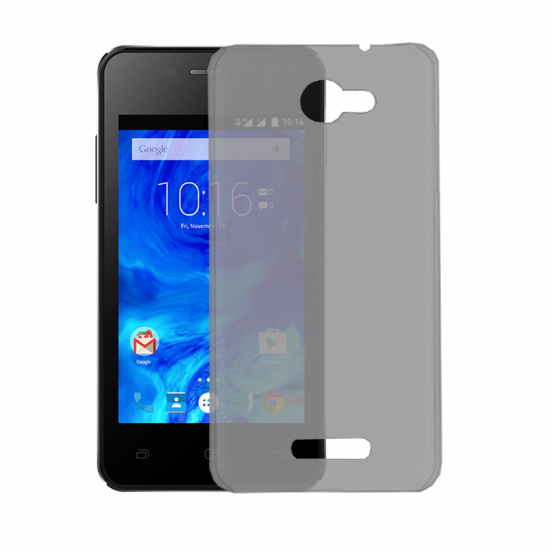 Cheap online Softcase Silicon Ultrathin for Smartfren Andromax EC - Black Clear
